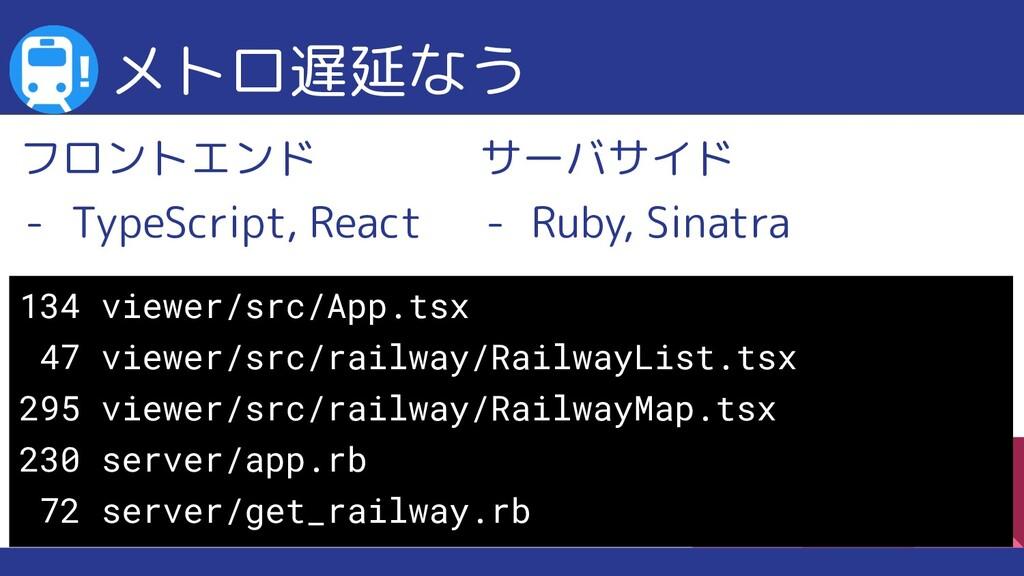 サーバサイド - Ruby, Sinatra メトロ遅延なう 134 viewer/src/A...
