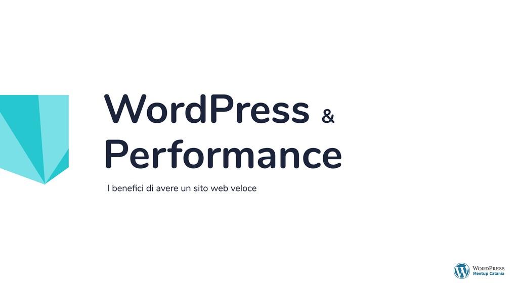I benefici di avere un sito web veloce WordPress...