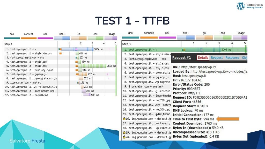 Salvatore Fresta TEST 1 - TTFB