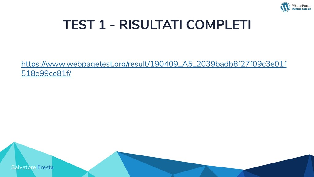 Salvatore Fresta TEST 1 - RISULTATI COMPLETI ht...