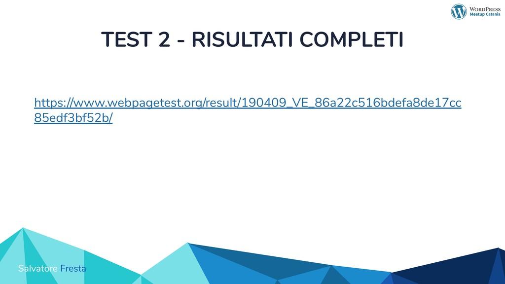 Salvatore Fresta TEST 2 - RISULTATI COMPLETI ht...