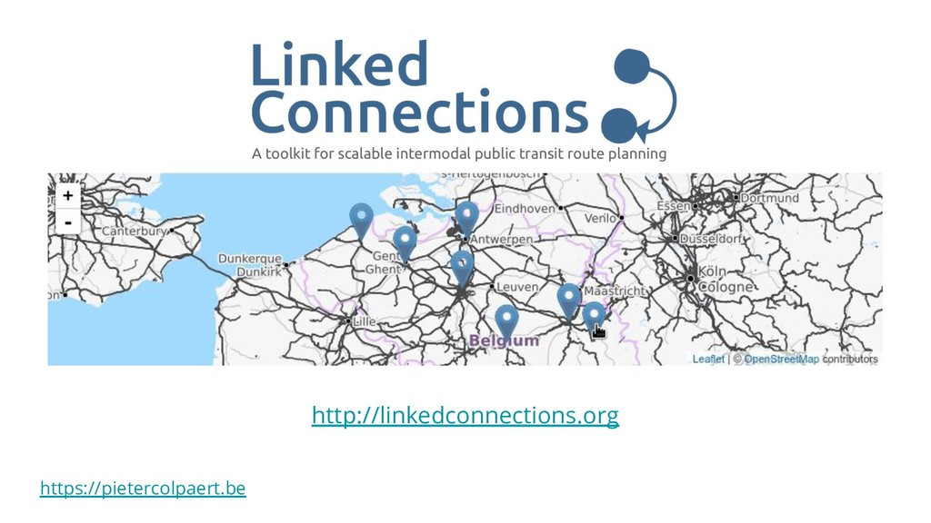 https://pietercolpaert.be http://linkedconnecti...