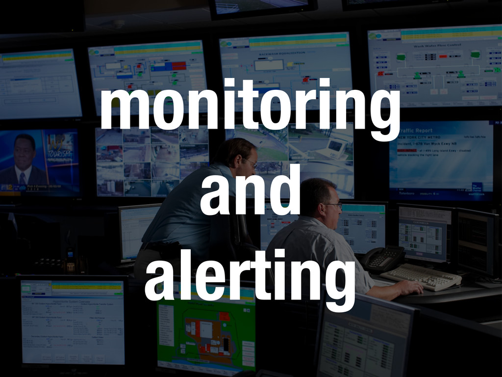 monitoring and alerting