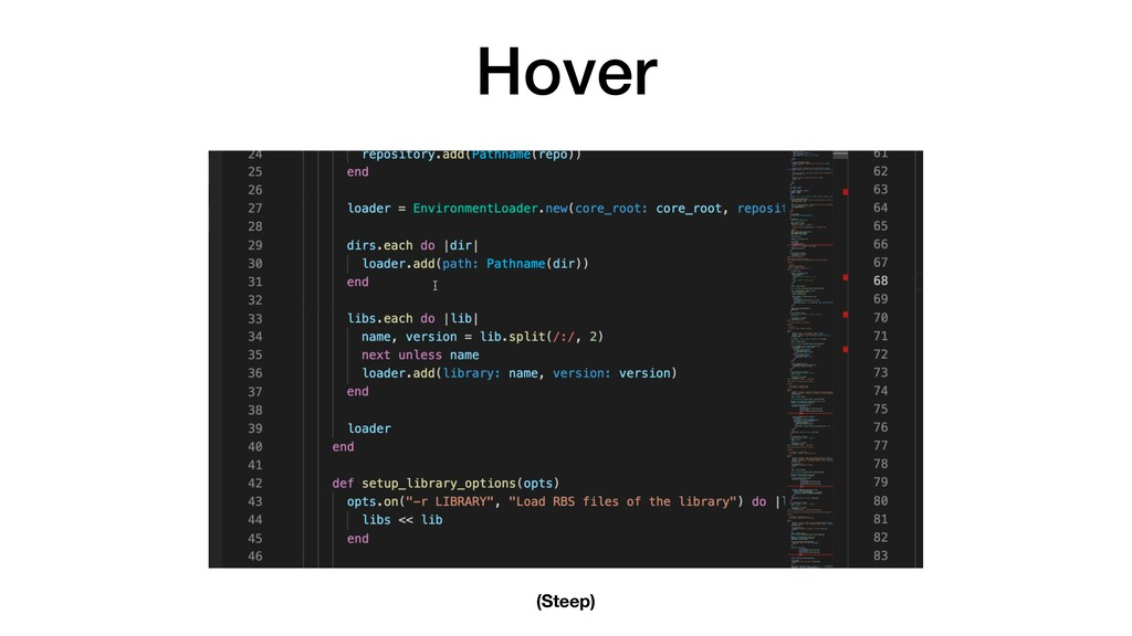 Hover (Steep)
