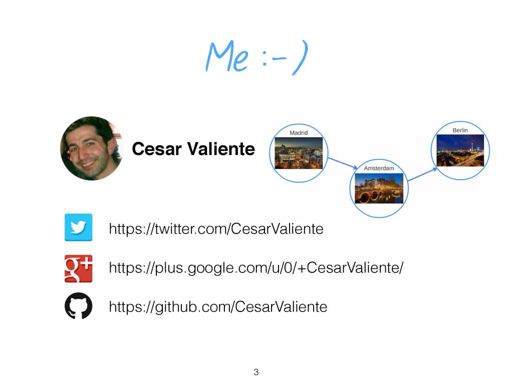 Me :-) Cesar Valiente https://twitter.com/Cesar...