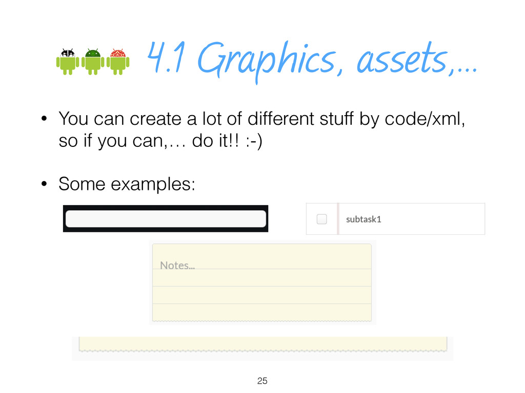 • You can create a lot of different stuff by co...