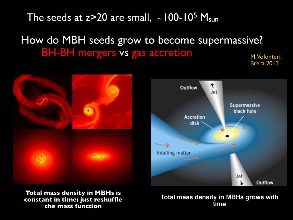 How do MBH seeds grow to become supermassive? B...