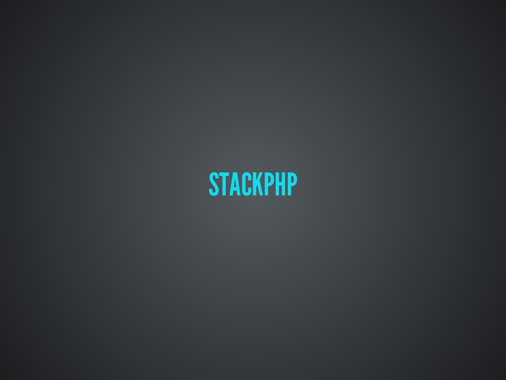 STACKPHP