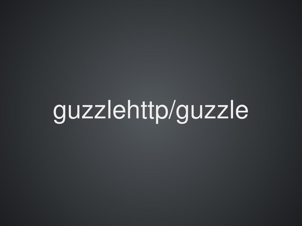 guzzlehttp/guzzle