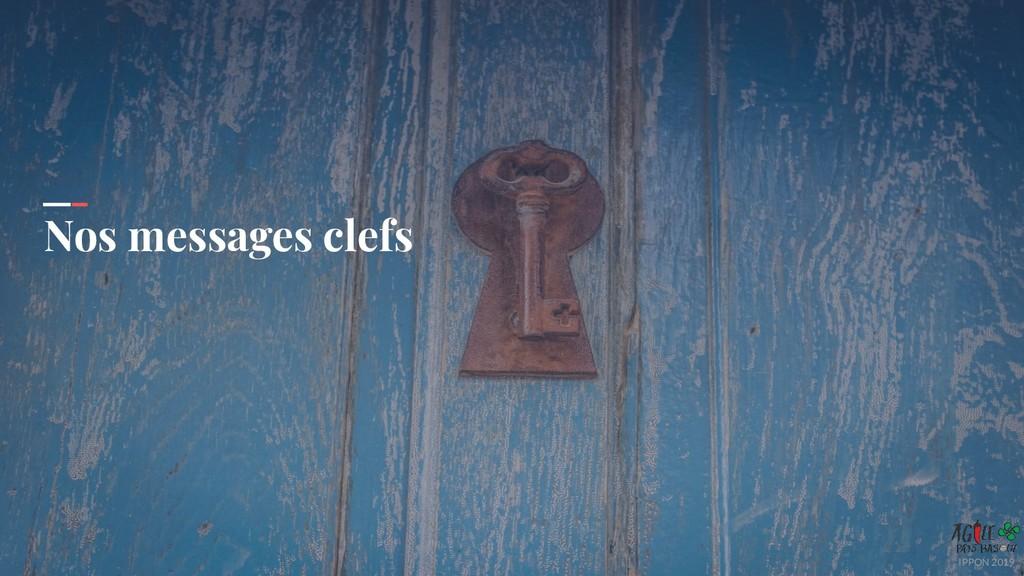 IPPON 2019 Nos messages clefs