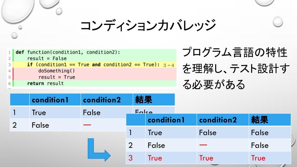 condition1 condition2  1 True False False 2 F...