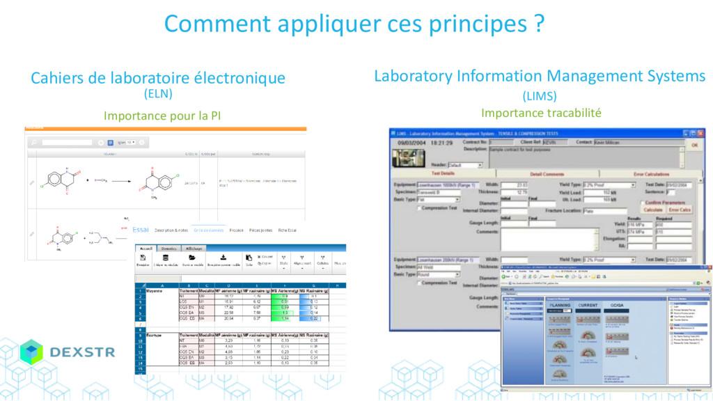 Cahiers de laboratoire électronique Importance ...