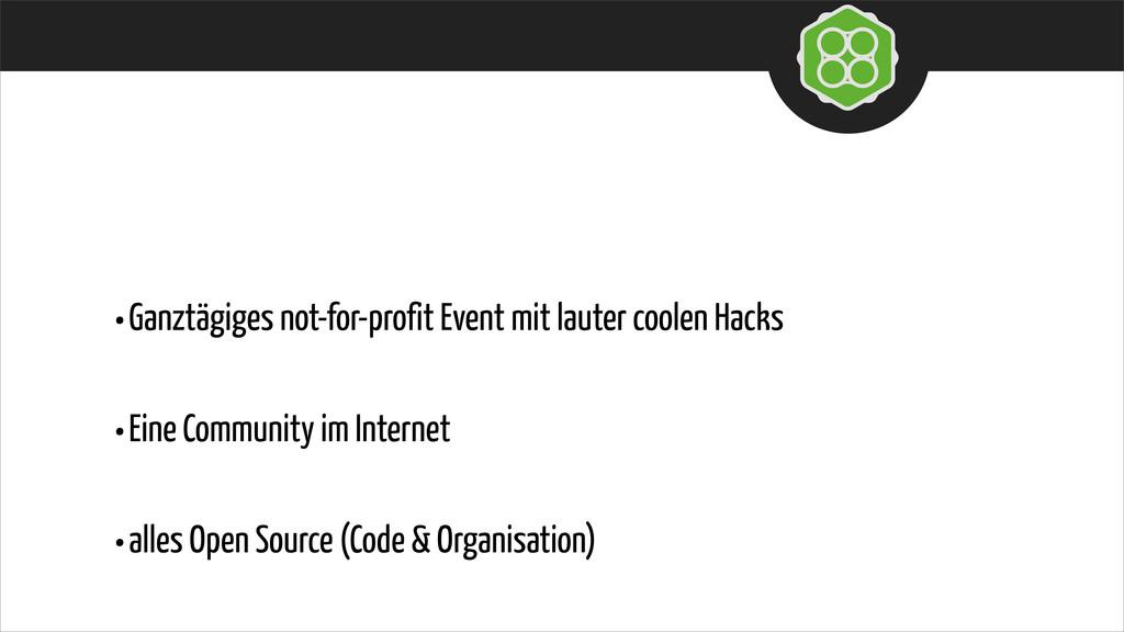 •Ganztägiges not-for-profit Event mit lauter co...