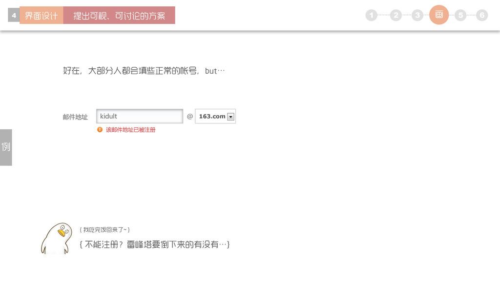 1 5 6 2 3 4 kidult 邮件地址 @ 163.com 该邮件地址已被注册