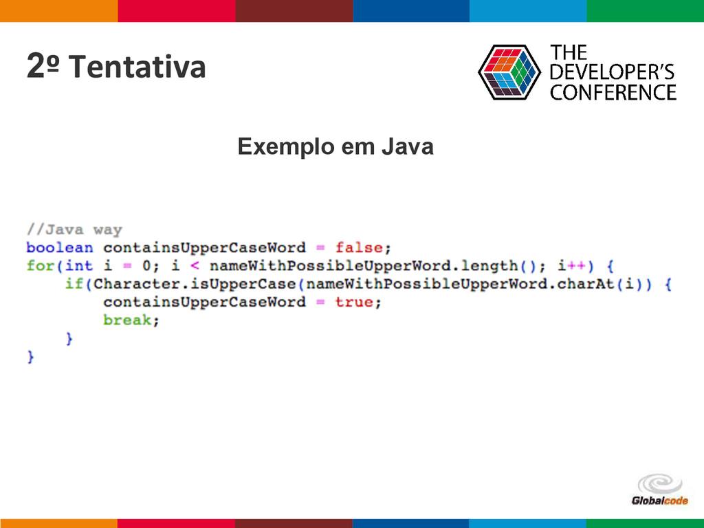 Globalcode – Open4education 2º Tentativa Exempl...