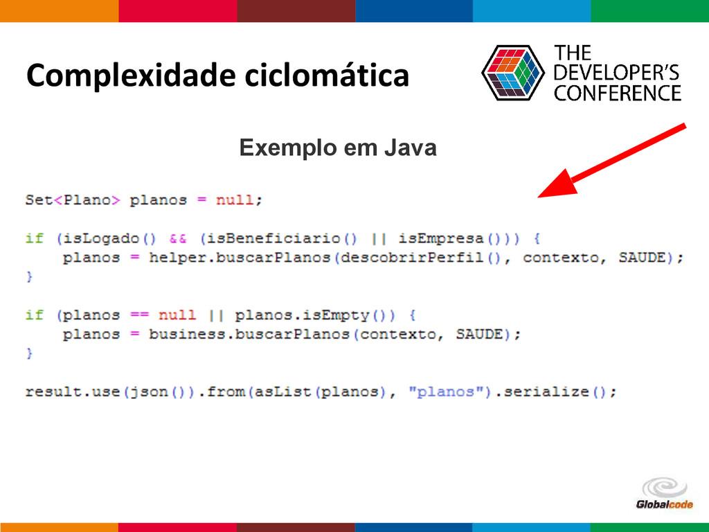 Globalcode – Open4education Complexidade ciclom...
