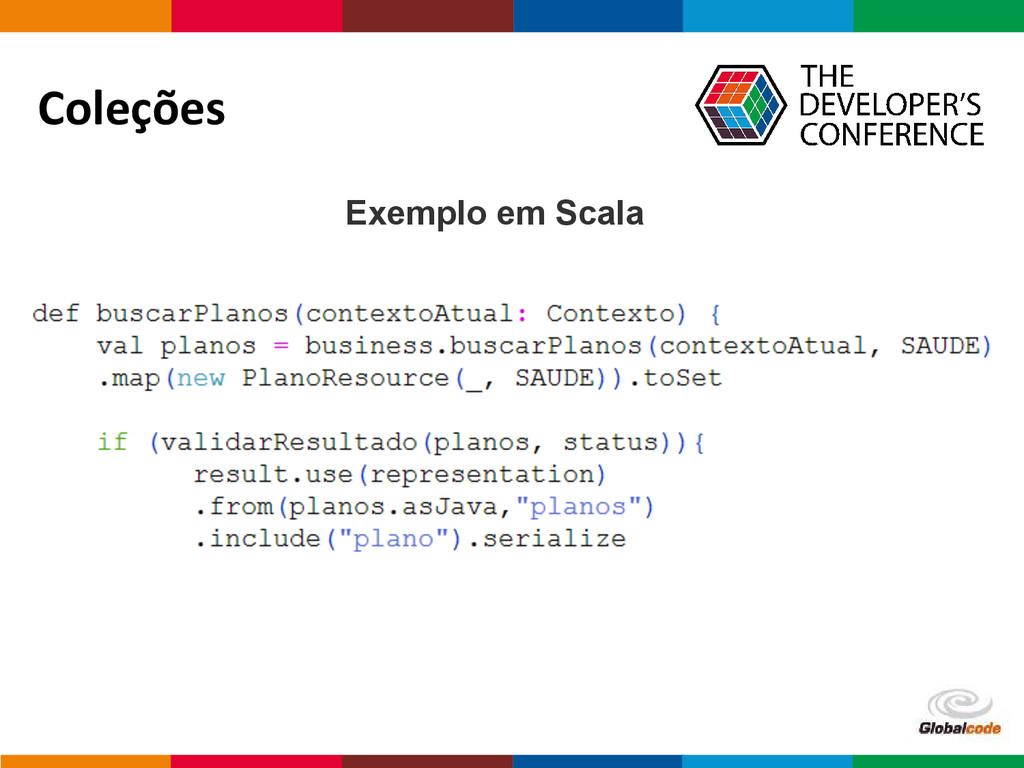 Globalcode – Open4education Coleções Exemplo em...