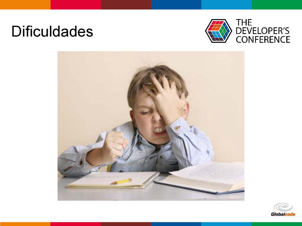 Globalcode – Open4education Dificuldades