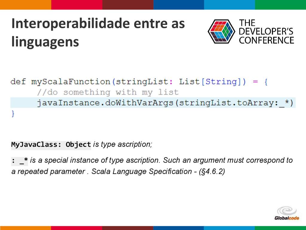 Globalcode – Open4education MyJavaClass: Object...