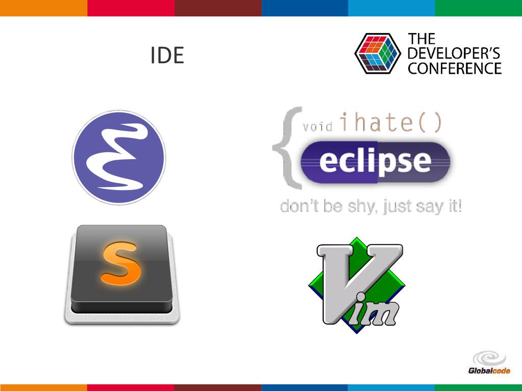 Globalcode – Open4education IDE