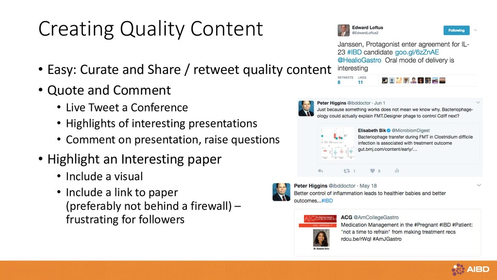 Creating Quality Content • Easy: Curate and Sha...