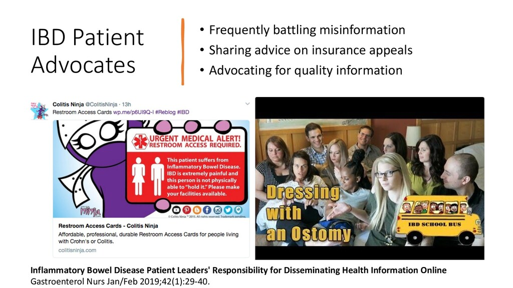 IBD Patient Advocates • Frequently battling mis...