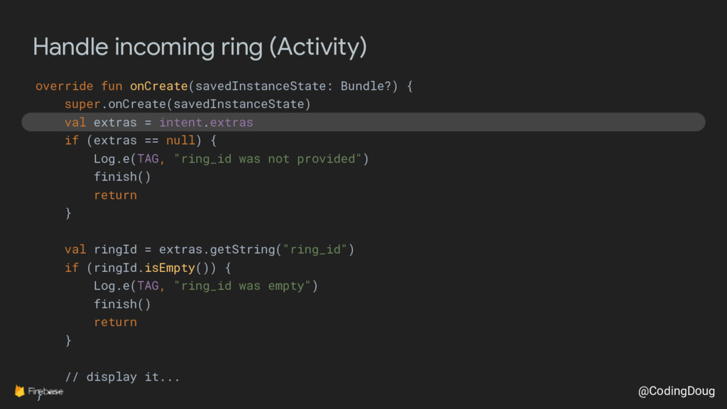 @CodingDoug Handle incoming ring (Activity) ove...
