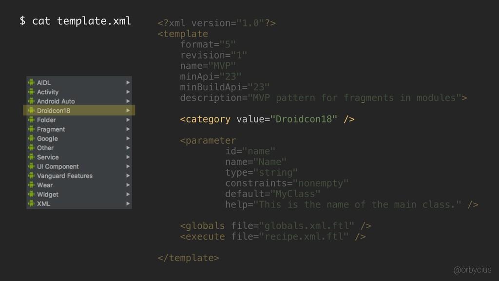 "$ cat template.xml <?xml version=""1.0""?> <templ..."