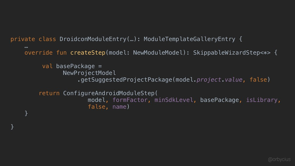 private class DroidconModuleEntry(…): ModuleTem...