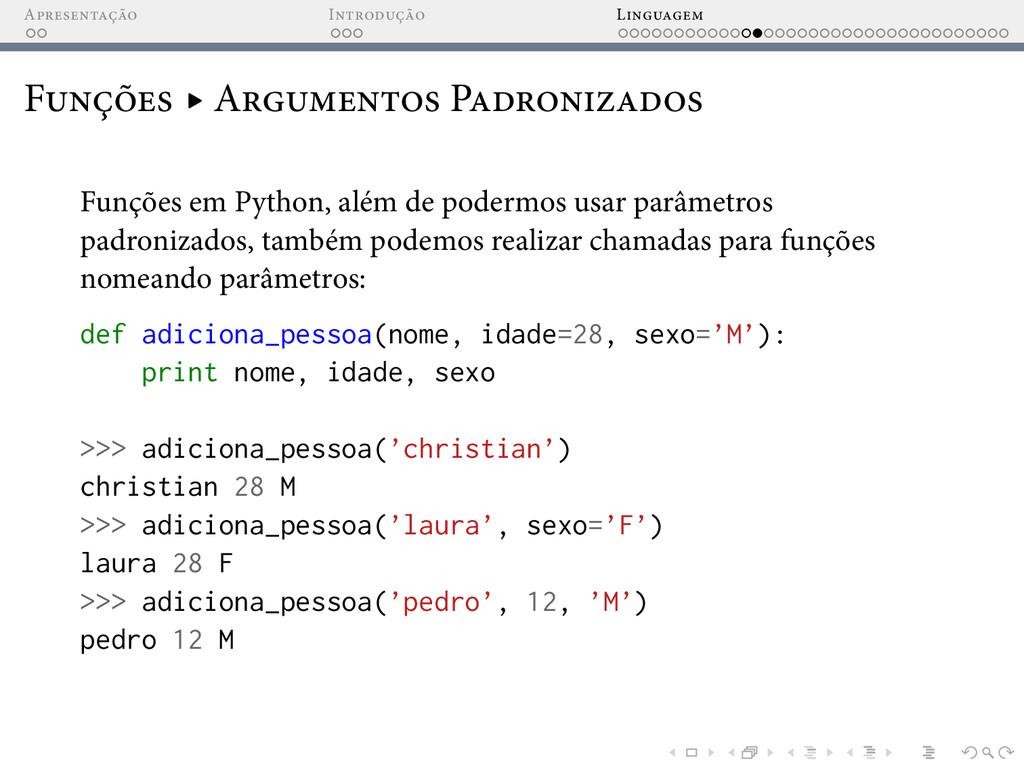 A I L F ▸ A P Funções em Python, além de poderm...