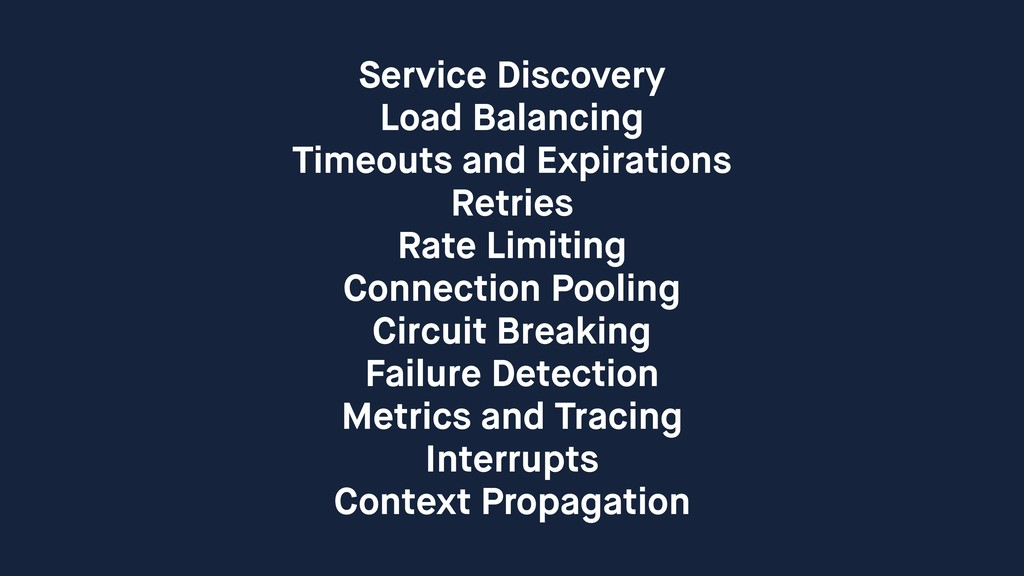 Service Discovery Load Balancing Timeouts and E...