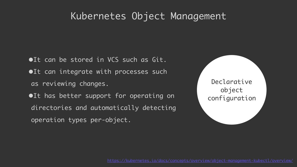 •It can be stored in VCS such as Git. •It can i...