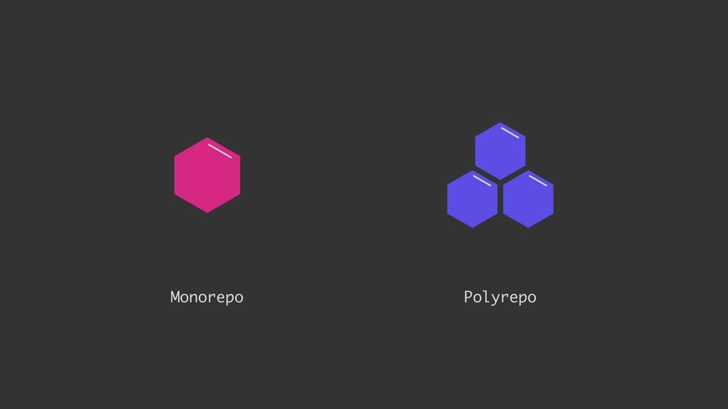 Monorepo Polyrepo