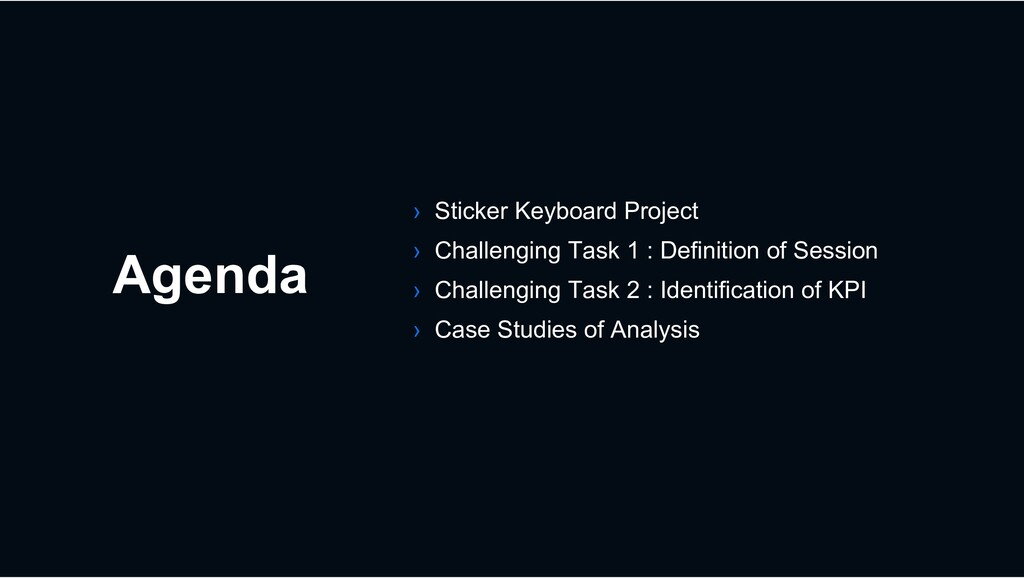 Agenda › Sticker Keyboard Project › Challenging...