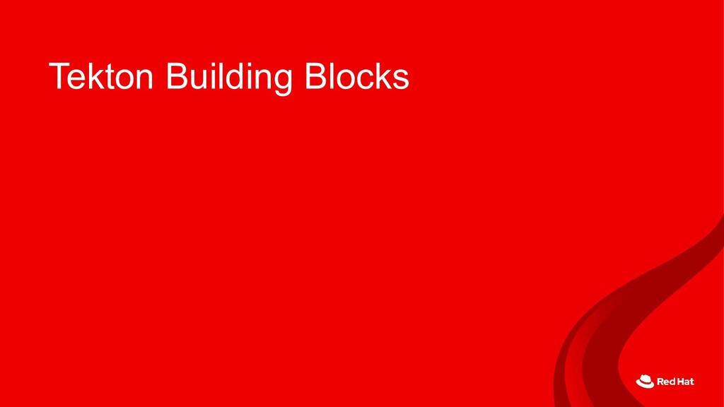 Tekton Building Blocks