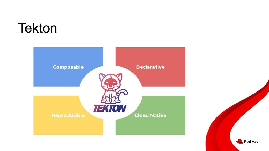 Tekton Declarative Composable Cloud Native Repr...