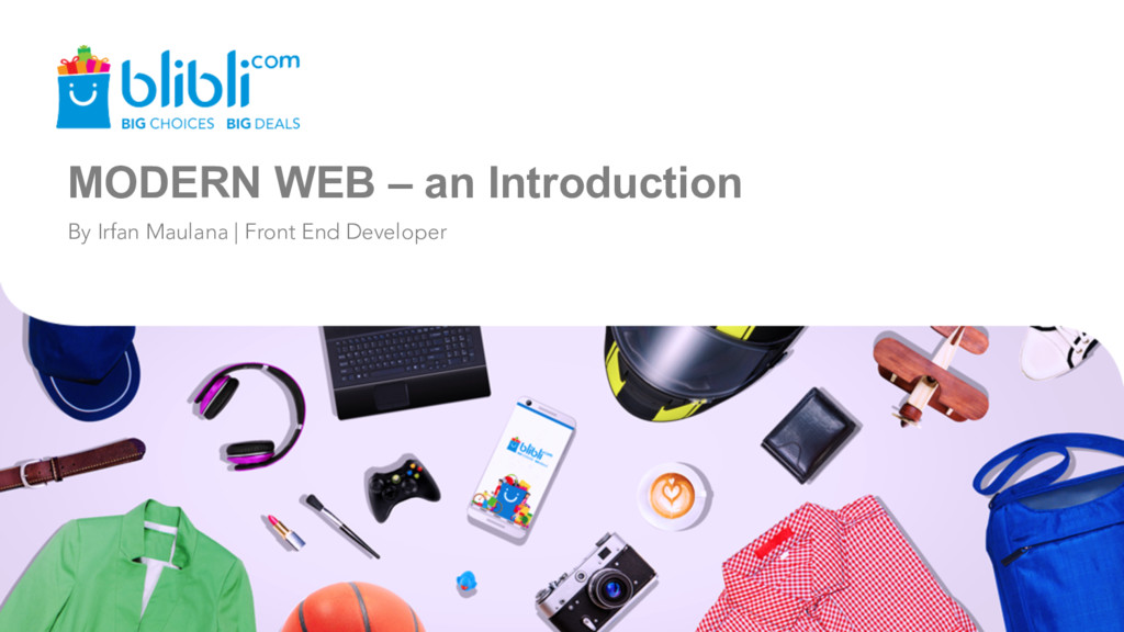MODERN WEB – an Introduction By Irfan Maulana |...
