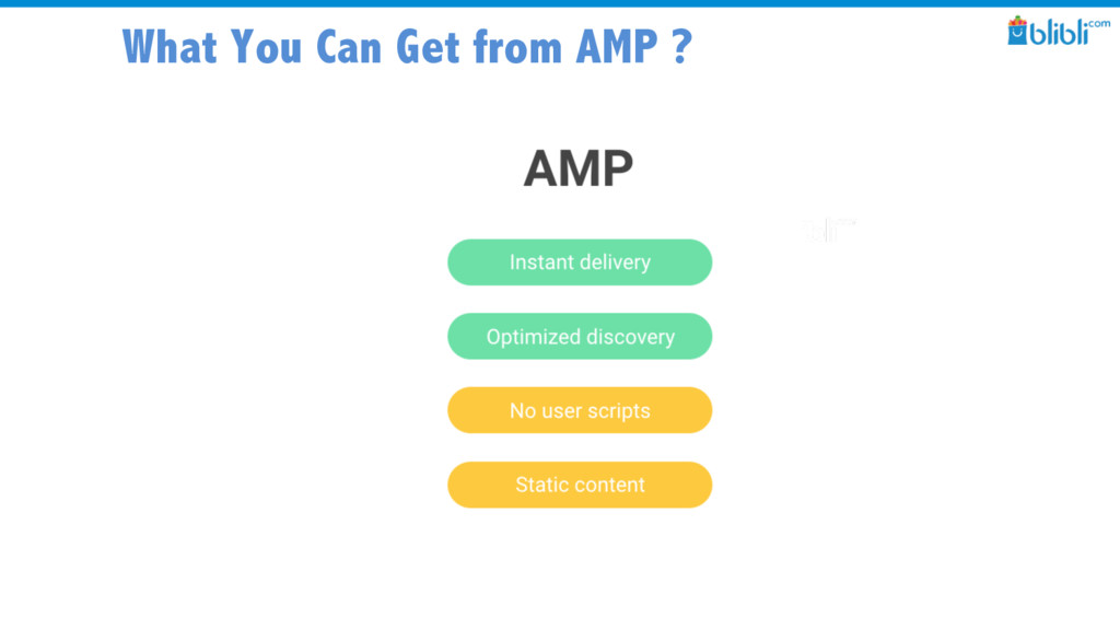 What You Can Get from AMP ?