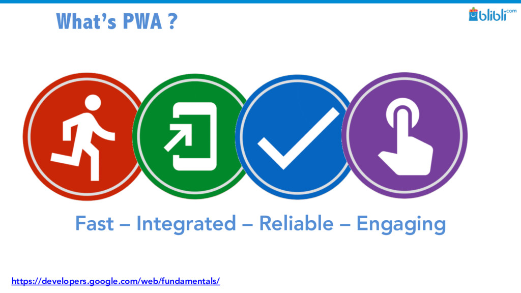 What's PWA ? Fast – Integrated – Reliable – Eng...