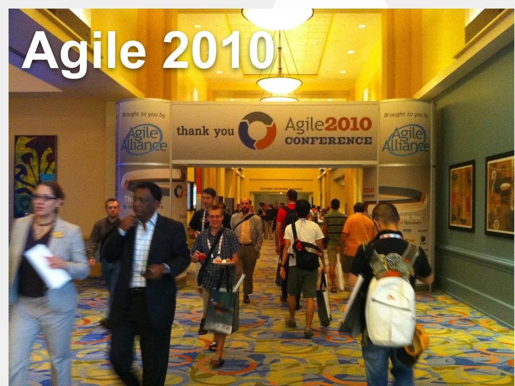 タイトル Agile 2010