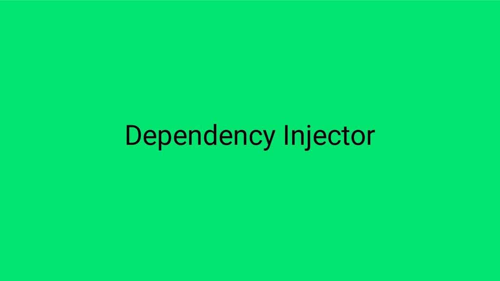 Dependency Injector