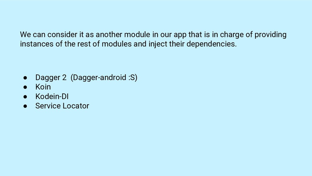 We can consider it as another module in our app...