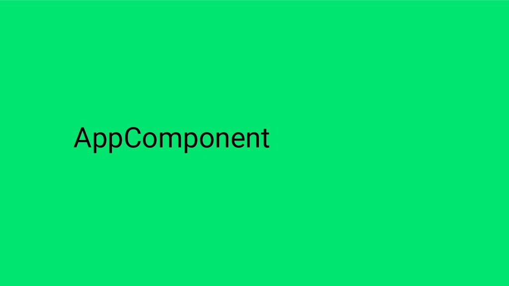 AppComponent