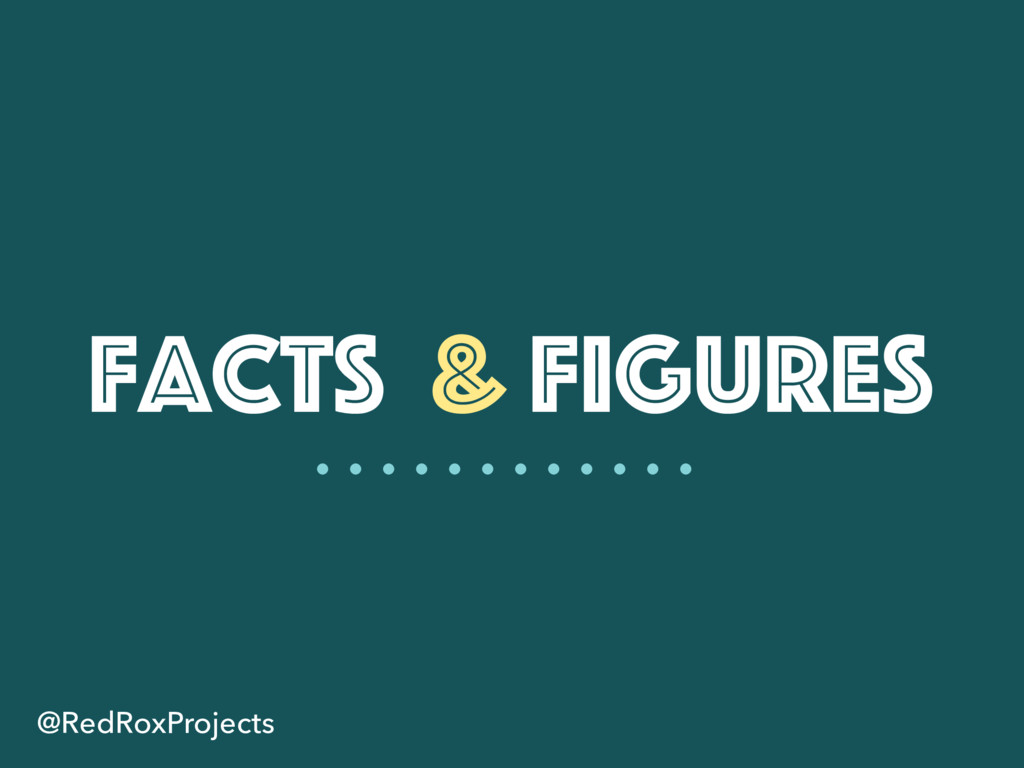 Facts & Figures @RedRoxProjects
