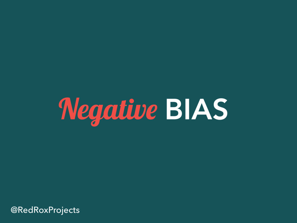 Negative BIAS @RedRoxProjects