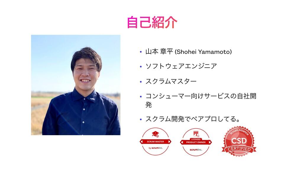 ࣗݾհ • ຊ ষฏ (Shohei Yamamoto)   • ιϑτΣΞΤϯδχΞ ...