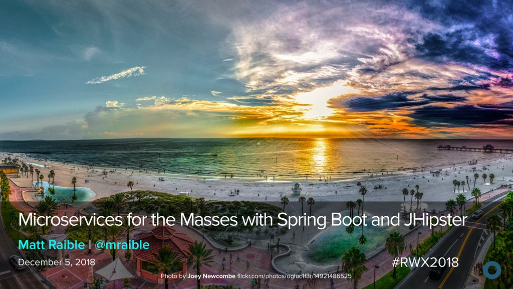 Microservices for the Masses with Spring Boot a...