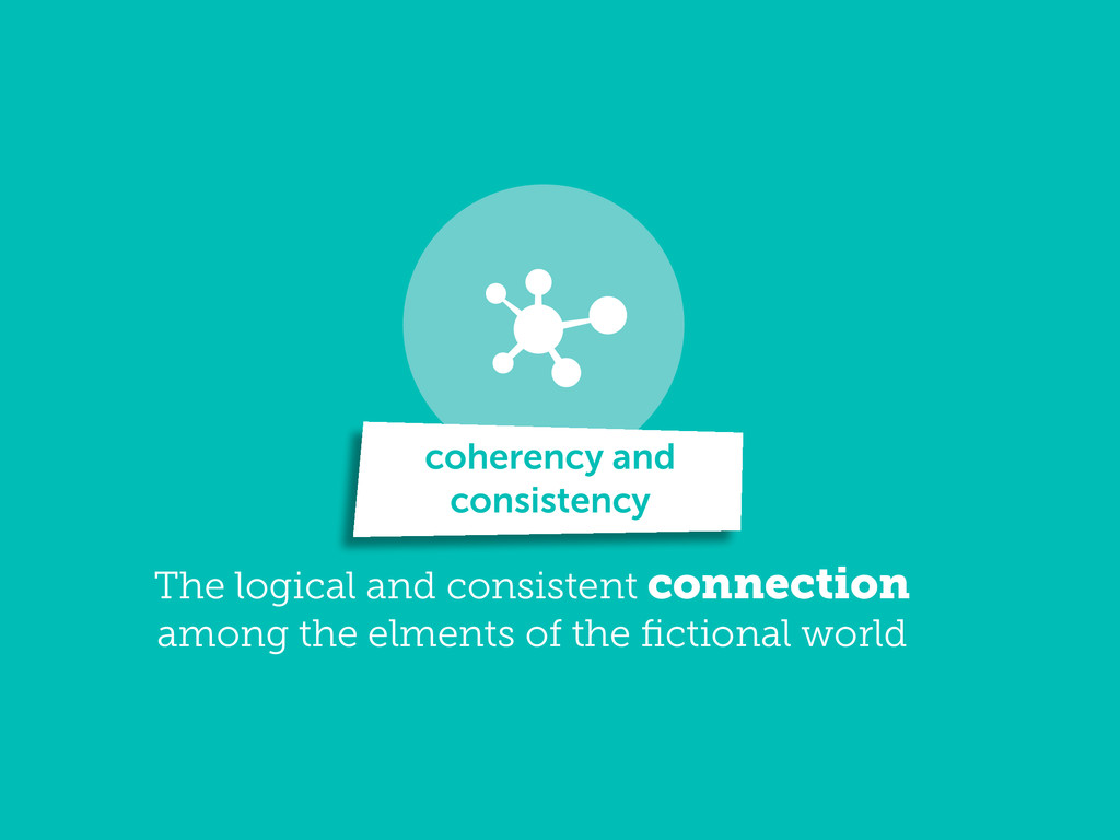 The logical and consistent connection among the...