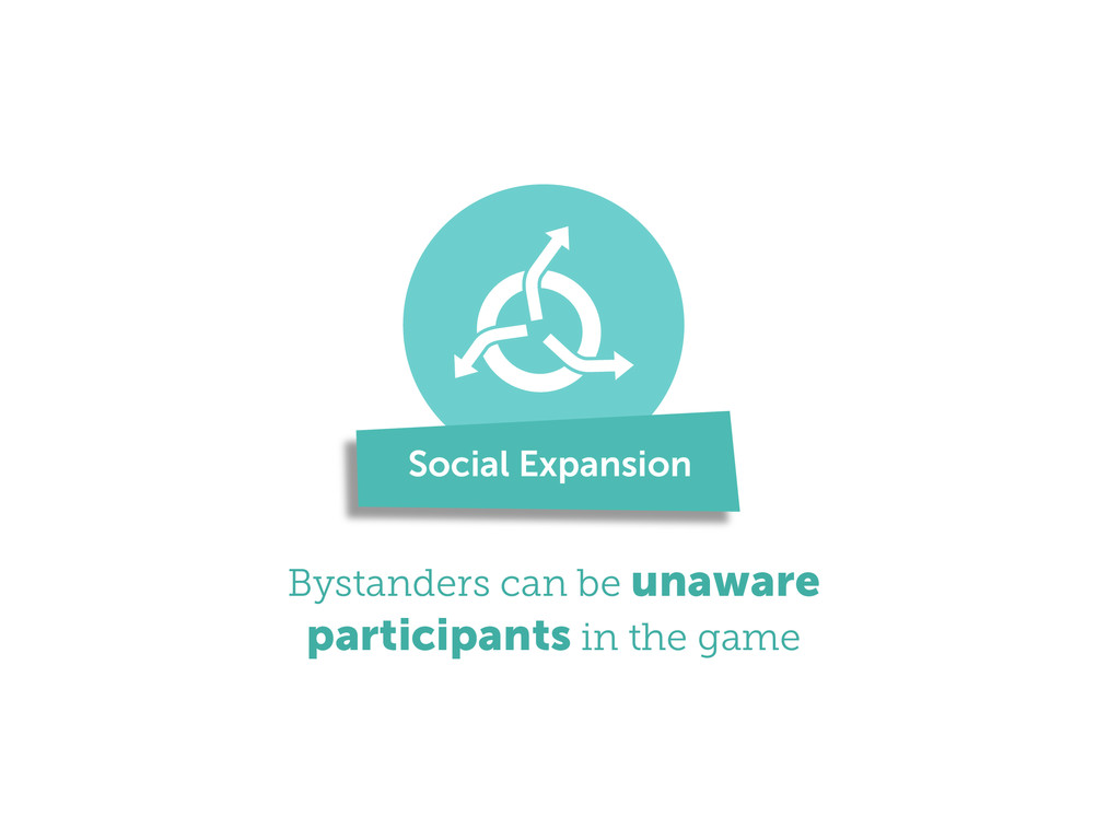 ! Bystanders can be unaware participants in the...