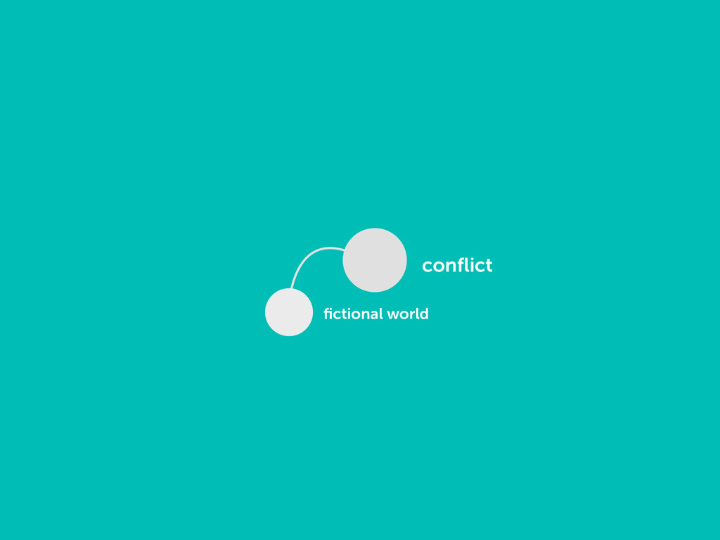 conflict fictional world